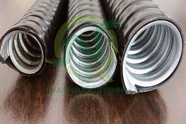 Ống ruột gà bọc nhựa Polietylen KPE cao cấp