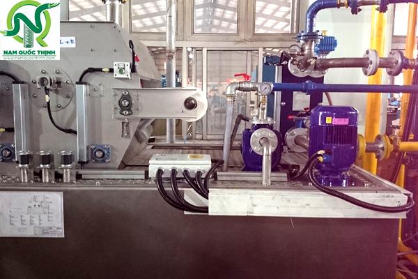 Ống ruột gà lõi thép bọc nhựa VINYL chịu dầu KLV cao cấp