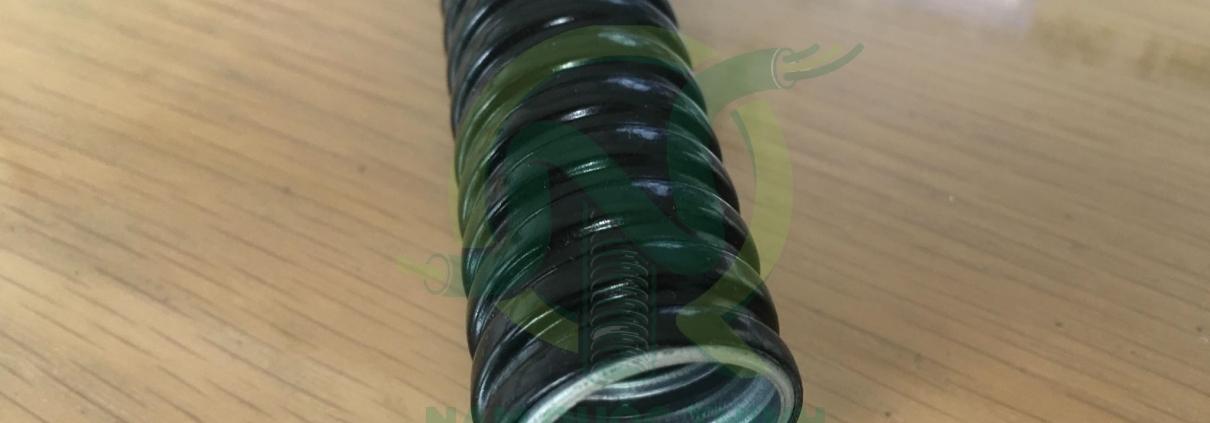 Ống ruột gà inox bọc nhựa VINYL chịu dầu KLSV cao cấp