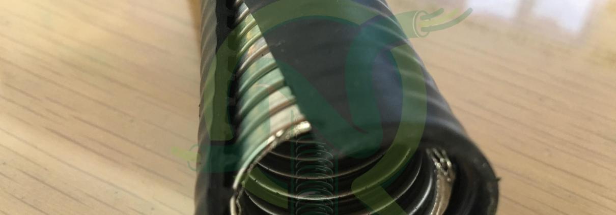 Ống ruột gà bọc nhựa Polietylen KPE chất lượng